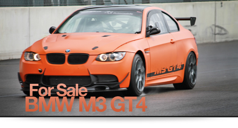 BMW M3 GT4 For Sale