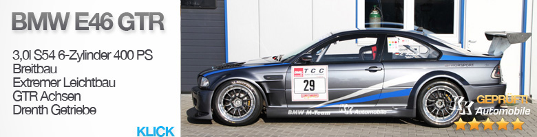 bmw racecars clubsport und rennsport for sale motorsport24. Black Bedroom Furniture Sets. Home Design Ideas