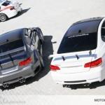BMW M3 E92 Race und BMW M3 E92 Clubsport in grau und weiß