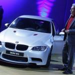 Präsentation des neuen BMW M3 CRT Sondermodell 2011