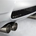 Edelstahl Abgasanlage am BMW M3 CRT