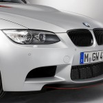 Dezente orange Akzente am BMW M3 CRT