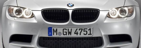 Frontansicht des BMW M3 CRT Sondermodell bei der Vorstellung