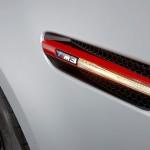 Detailaufnahme eines Blinkers des BMW M3 CRT
