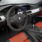 BMW M3 CRT Interieur in schwarz orangem Leder