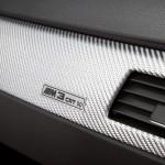 Detailansicht der BMW M3 CRT Plakette
