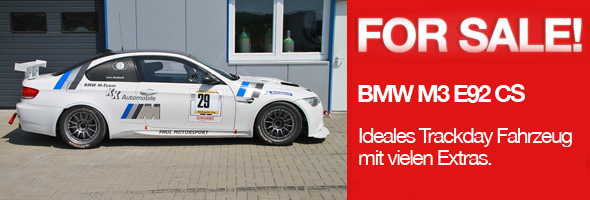 BMW M3 E92 Trackday Race Car for sale 450 hp