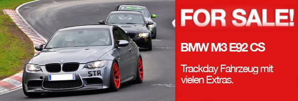 BMW M3 E92 Trackday Fahrzeug zu verkaufen
