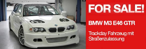 BMW M3 E46 GTR mit Straßenzulassung zu verkaufen