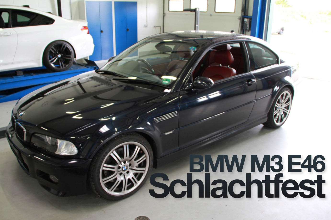 bmw m3 e46 schlachtfest noch alle teile vorhanden bmw. Black Bedroom Furniture Sets. Home Design Ideas