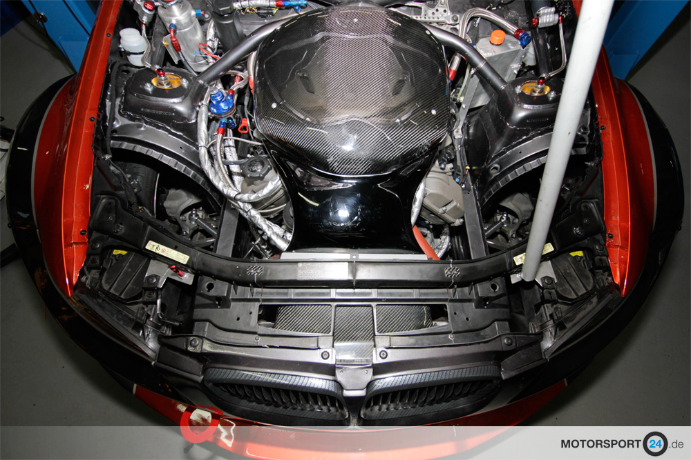 M3 E92 Airbox Race F 252 R S65 In Serienposition Bmw M