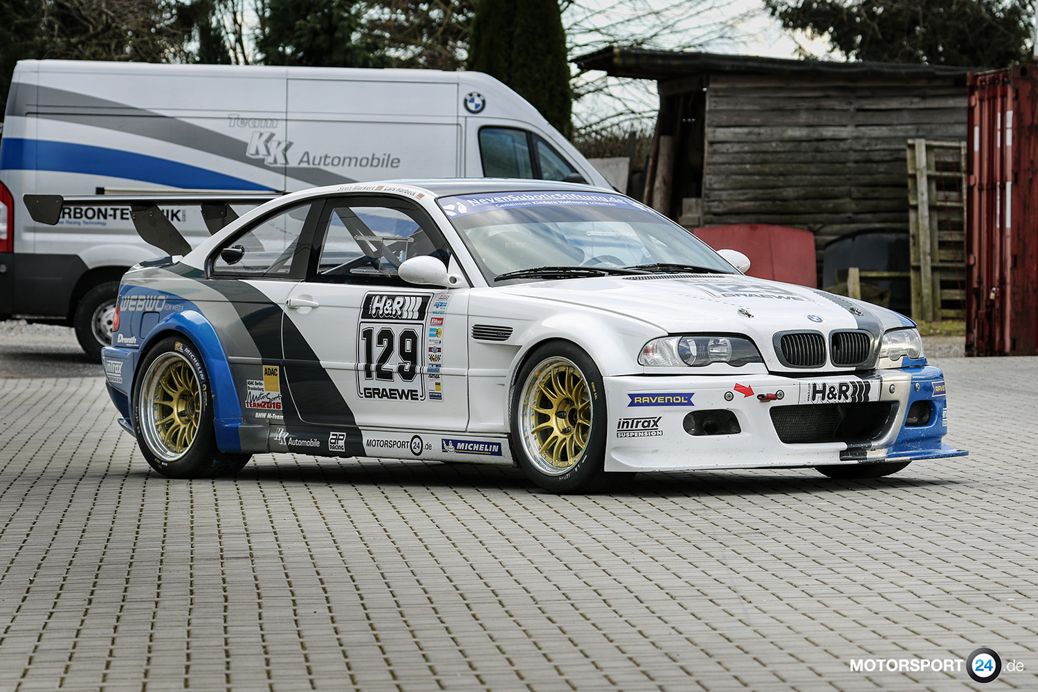 For Sale Bmw M3 E46 Gtr Rennwagen Bmw M Tuning Teile