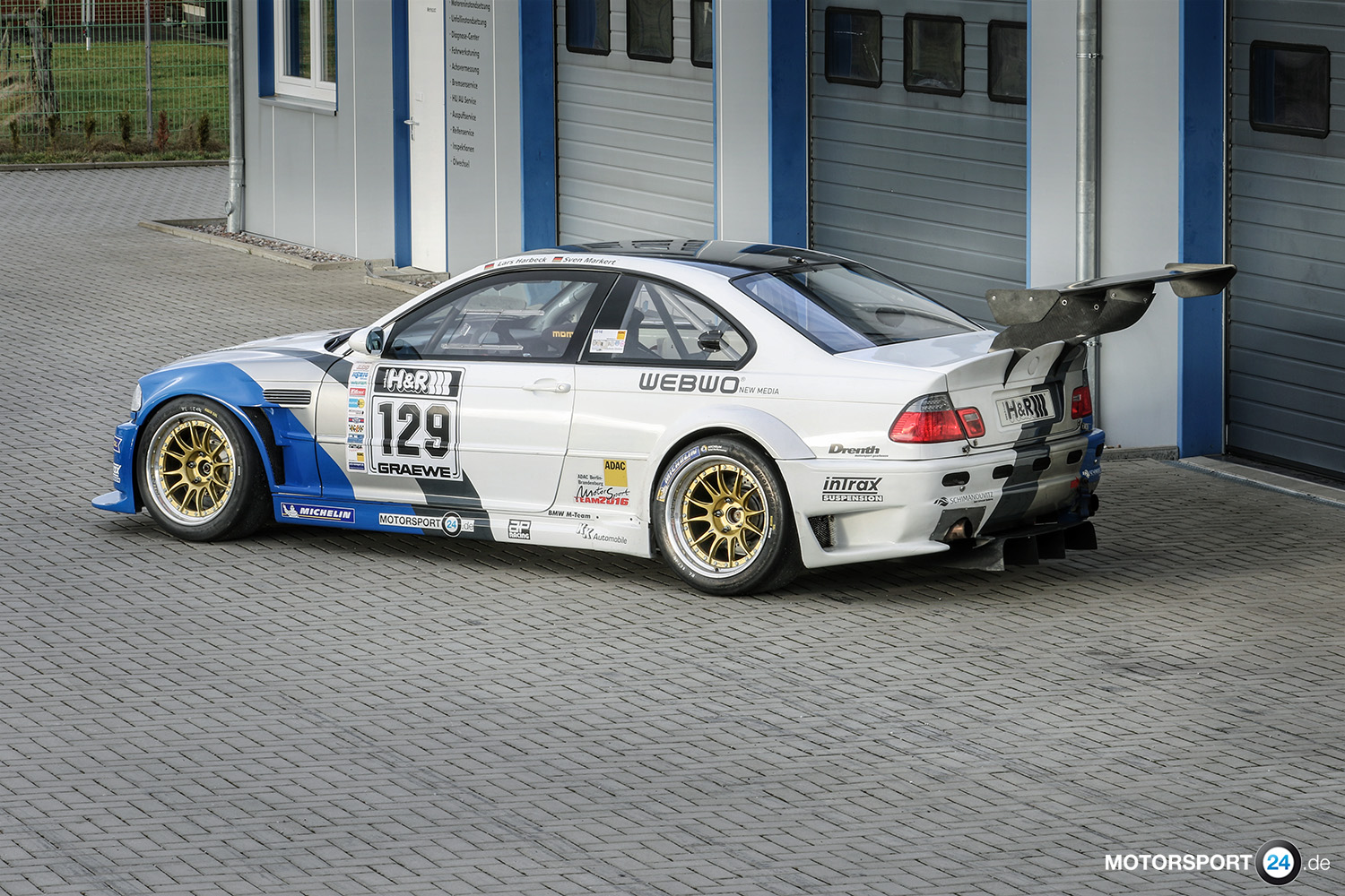FOR SALE: BMW M3 E46 GTR Rennwagen | BMW M Tuning Teile ...